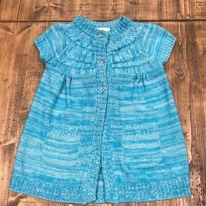 Little Lass Short Sleeved Sweater Tunic-Size 5